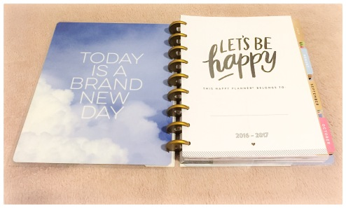 Inside of the Picture Quote Happy Planner