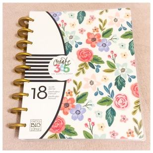 2016-2017 Classic Happy Planner in Floral Fresh